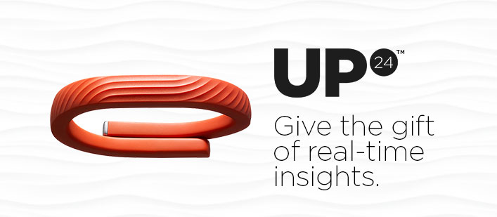 UP24. Give the gift of real-time insights.