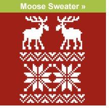 Moose Sweater T-shirt