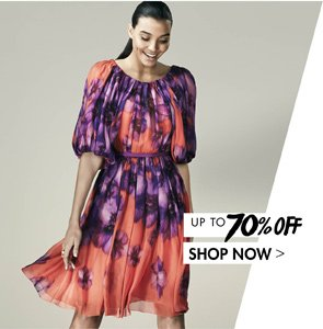 GIAMBATTISTA VALLI. Up to 70% off. SHOP NOW