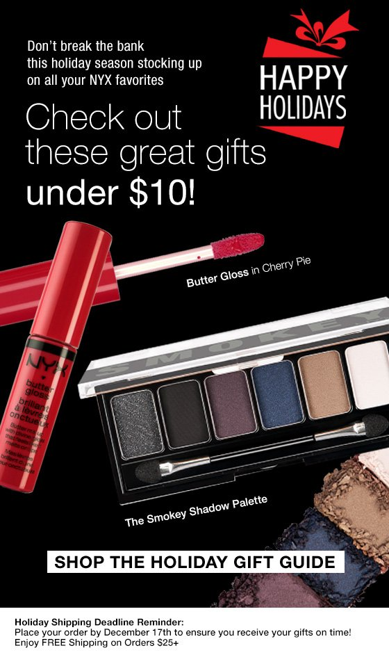 Great Gifts Under $10!