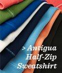 Antigua Half-Zip Sweatshirt
