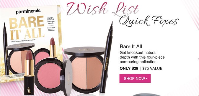 WISH LIST QUICK FIX: Bare It All | Only $29