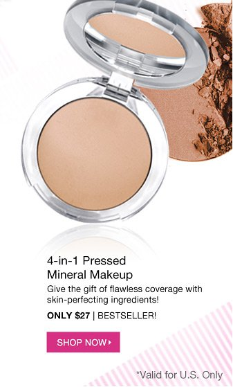 WISH LIST QUICK FIX: 4-in-1 Pressed Mineral Makeup | Only $27