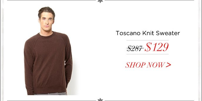 Toscano Knit Sweater