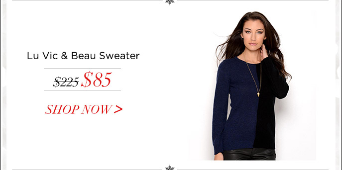 Lu Vic & Beau Sweater