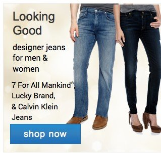 Designer jeans for men and women. Shop now.