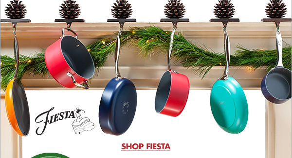 COLORFUL COOKWARE THAT LASTS A LIFETIME FIESTA COOKWARE IS DESIGNED TO MATCH YOUR FAVORITE FIESTA DINNERWARE SHOP FIESTA