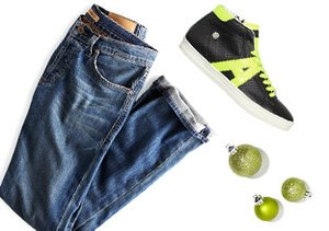 Street Style: Denim & High Tops