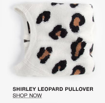 Shirley Leopard Pullover - Shop Now
