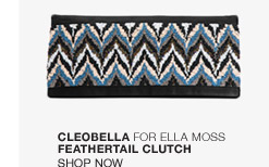Cleobella for Ella Moss Feathertail Clutch - Shop Now
