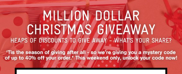 The Christmas Million Dollar Giveaway