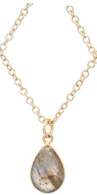 Labradorite Stone Necklace