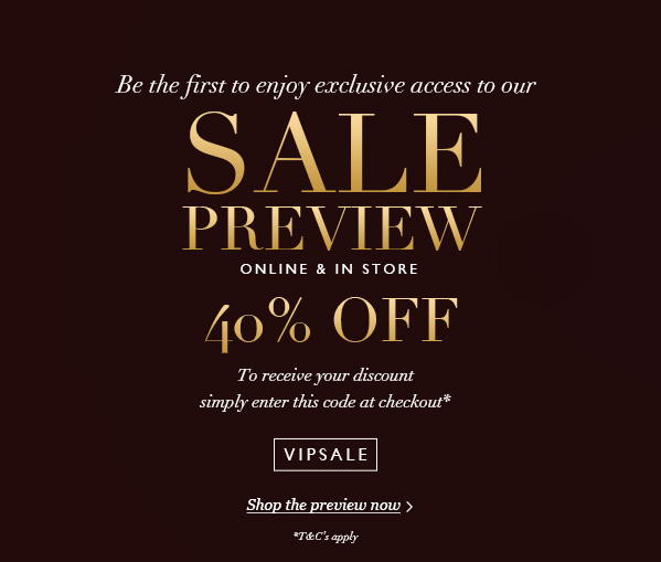 SALE PREVIEW US