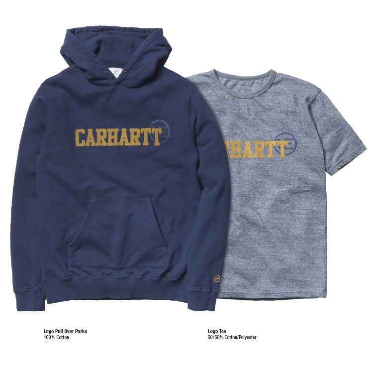 Hooded College Sweat and S/S College T-Shirt