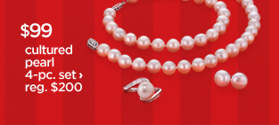 $99 cultured pearl 4-pc. set ›  reg. $200