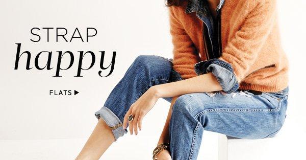Strap Happy: Shop Flats