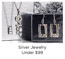 Silver Jewelry Under $99