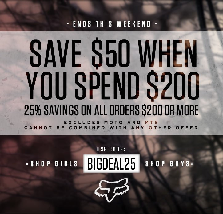 Save $50 When You Spend $200