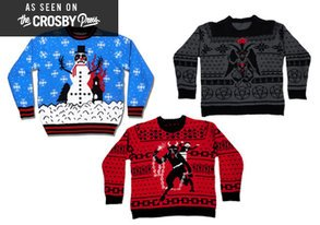 Shop Holiday Sweaters That Scream