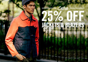 Shop Extra 25% Off: Jackets & Blazers