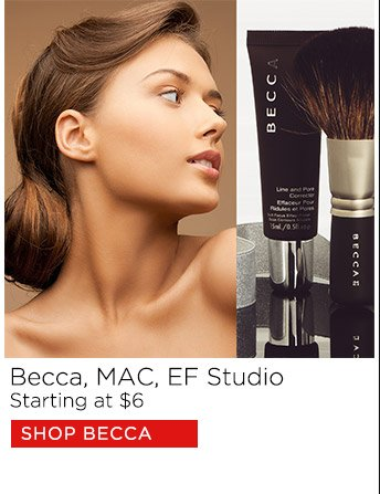 Becca, MAC, EF Studio starting at $1