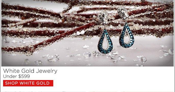 White Gold Jewelry Under $599