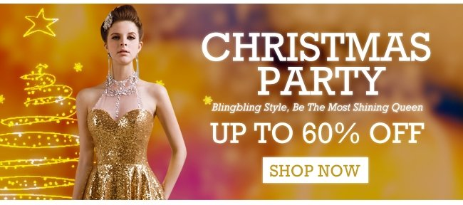 Christmas Party 60%OFF