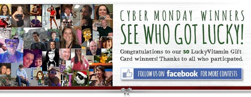 Cyber Monday Winners