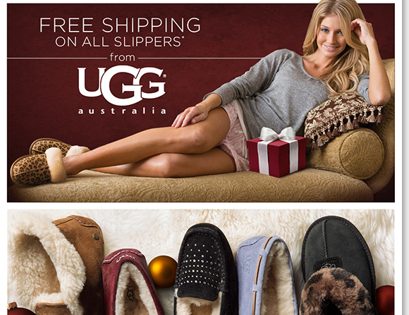The perfect gift, enjoy FREE Shipping on ALL regular priced UGG® Australia slippers for him and her!* Plus, shop more great gifts from Dansko, ECCO, ABEO & more and enjoy a FREE Cozy Blanket with any $150 or more purchase.** Shop now to find the best selection at The Walking Company.