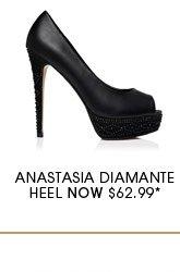 Anastasia Diamante Heel