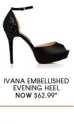 Ivana Embellished Evening Heel