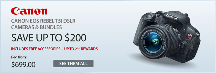 Adorama - Canon EOS Rebel T5i DSLR Cameras & Bundles