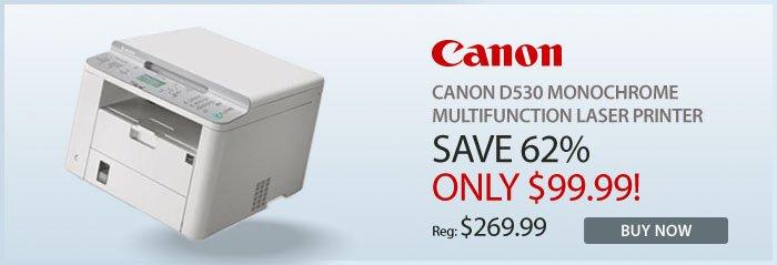 Adorama - Canon D530 Monochrome Multifunction Laser Printer