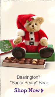 Bearington® Santa Beary Bear Shop Now