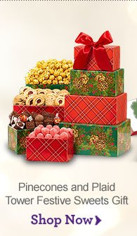 Pinecones and Plaid Tower Shop Now