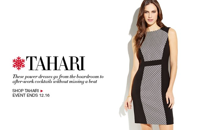 Shop Tahari Dresses - Ladies