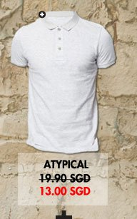 Atypical Short Sleeve Polo tee