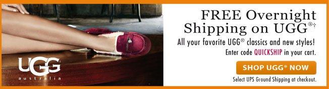 Free Overnight Shipping on UGG