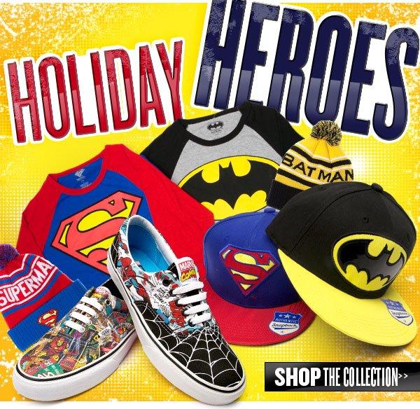 Holiday Hero Worthy. Shop Superheroes at Journeys!