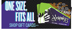 Pick up a Journeys Zap Gift Card