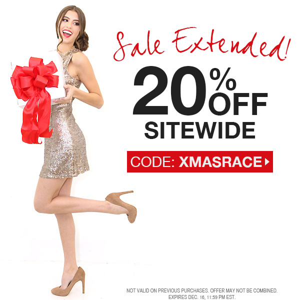 Cross off your list with 20% off sitewide!