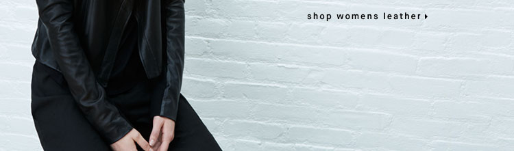 shop womens leather