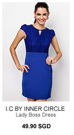 I.C BY INNER CIRCLE Lady Boss Dress