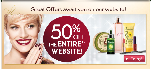 GREAT OFFERS AWAIT YOU ON OUR WEBSITE!