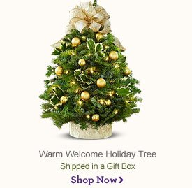 Warm Welcome Holiday Tree Shop Now