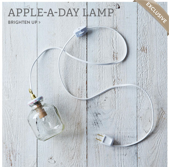 Apple-a-Day Lamp