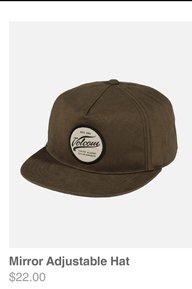 Mirror Adjustable Hat