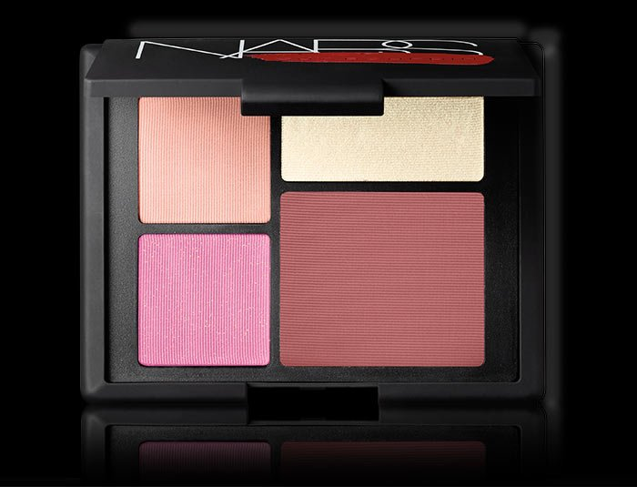 A NARS online exclusive featuring three iconic blush shades and a highlighter.
