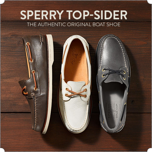 SPERRY TOP-SIDER - THE AUTHENTIC ORIGINAL BOAT SHOE