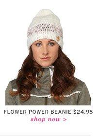 Flower Power Beanie $24.95 - Shop now